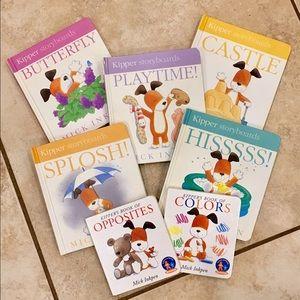 7 Kipper Books by Mick Inkpen